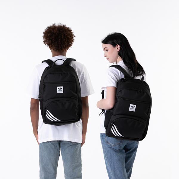 alternate view adidas National Backpack - BlackALT1BADULT