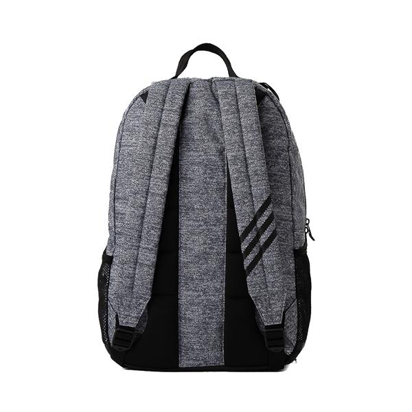 alternate view adidas National Backpack - Heather GrayALT2