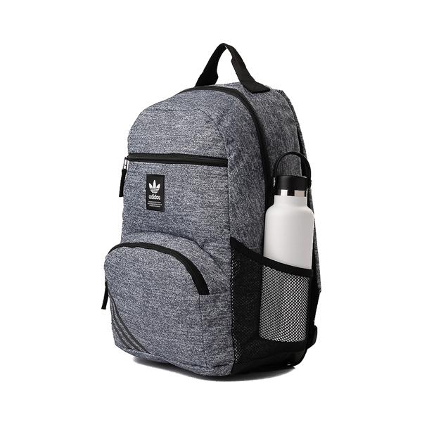 alternate view adidas National Backpack - Heather GrayALT4