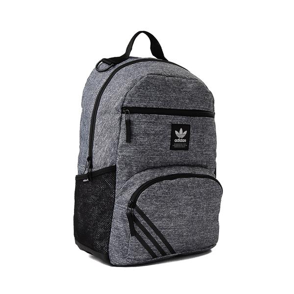 alternate view adidas National Backpack - Heather GrayALT4B