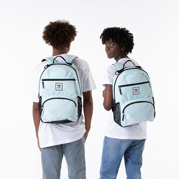 alternate view adidas National Backpack - Light GreenALT1BADULT