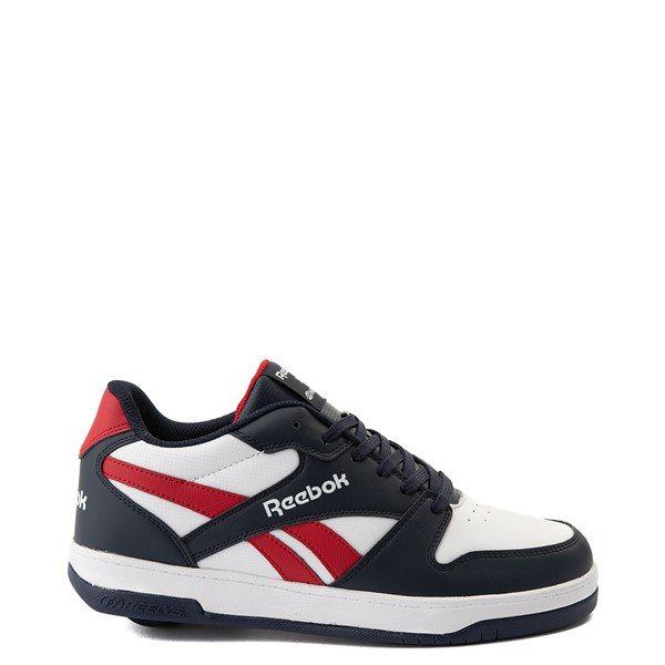 Mens Reebok x Heelys BB4500 Low Skate Shoe - White / Navy