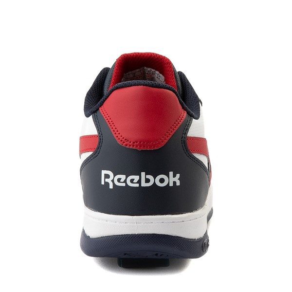 alternate view Mens Reebok x Heelys BB4500 Low Skate Shoe - White / NavyALT2B