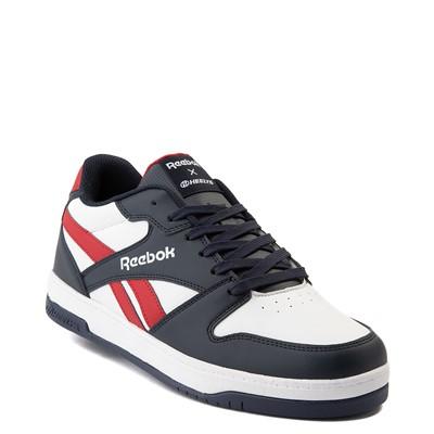Alternate view of Mens Reebok x Heelys BB4500 Low Skate Shoe - White / Navy