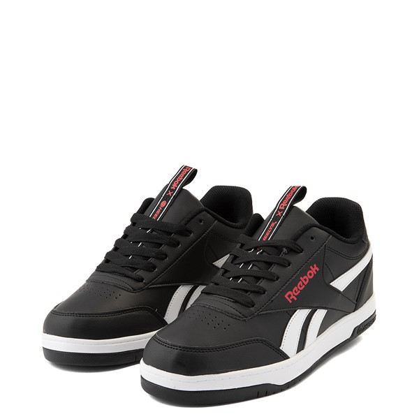 alternate view Mens Reebok x Heelys CL Court Low Skate Shoe - BlackALT3