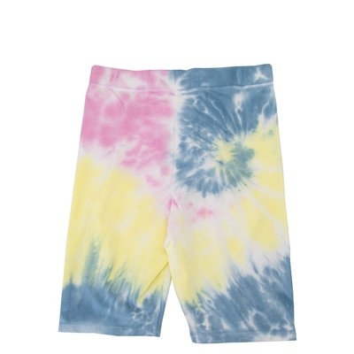 Alternate view of Womens Vans Spiraling Bike Shorts - Tie Dye