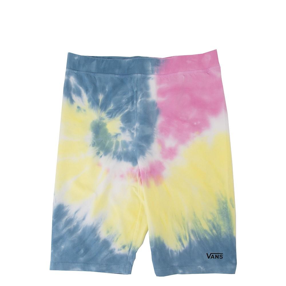 Womens Vans Spiraling Bike Shorts - Tie Dye