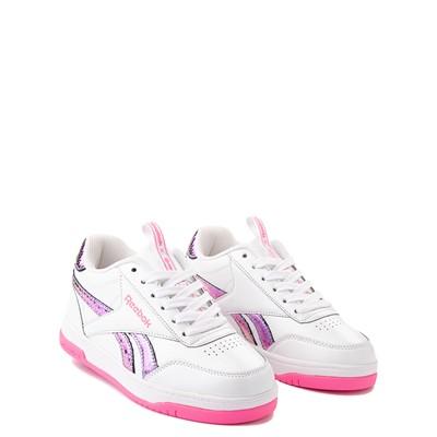 Alternate view of Reebok x Heelys CL Court Low Skate Shoe - Little Kid / Big Kid - White / Pink