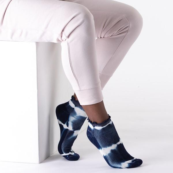 alternate view Womens Curly Anklet Socks 5 Pack - Tie DyeALT1