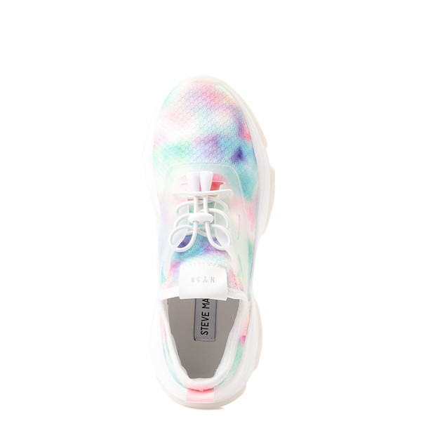 alternate view Womens Steve Madden Myles Athletic Shoe - White / MulticolorALT2