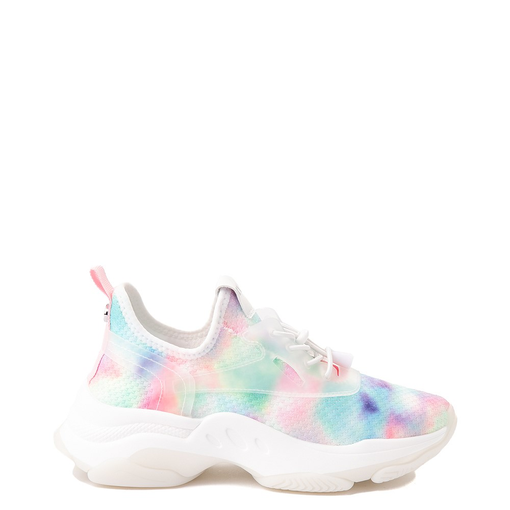 Womens Steve Madden Myles Athletic Shoe - White / Multicolor