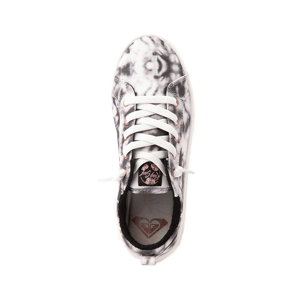 alternate view Womens Roxy Sheilahh Platform Casual Shoe - Black / Bleach WashALT2