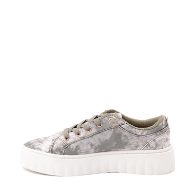 Alternate view of Womens Roxy Sheilahh Platform Casual Shoe - Olive / Bleach Wash