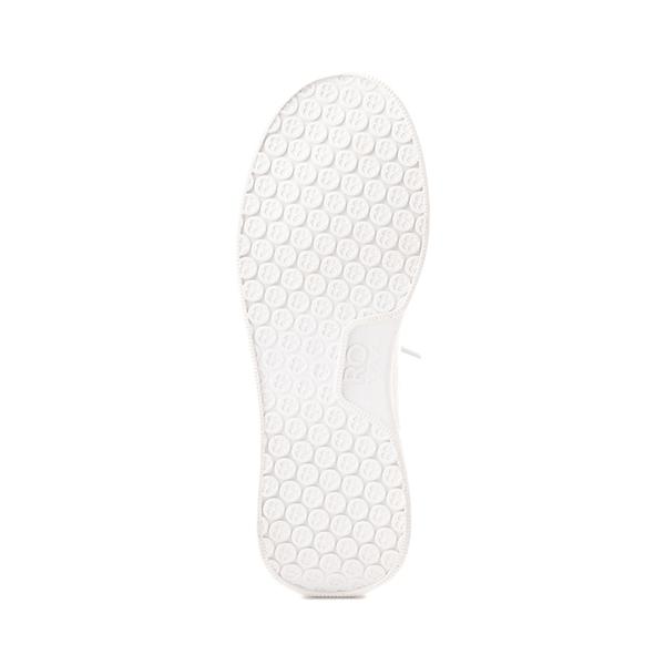alternate view Womens Roxy Harper Slip On Casual Shoe - White MonochromeALT3