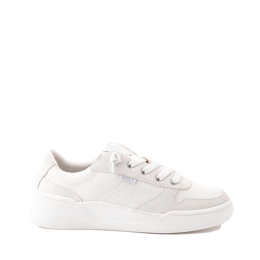 Womens Roxy Harper Slip On Casual Shoe - White Monochrome