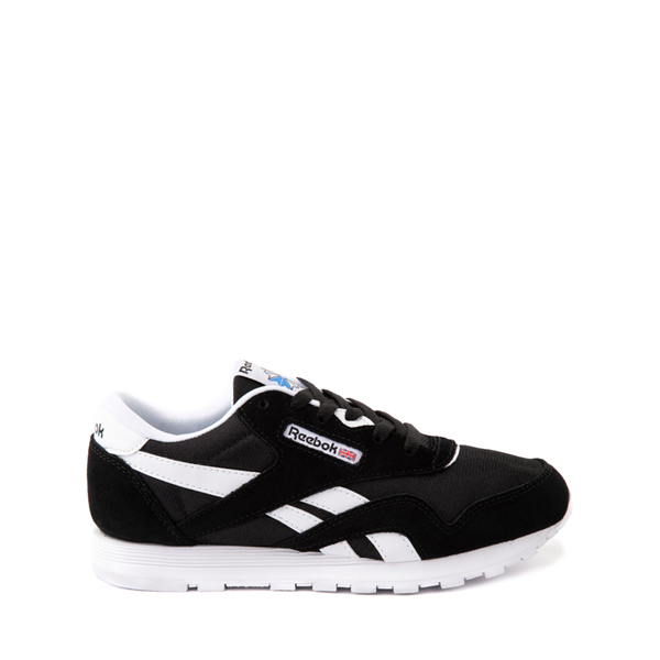Main view of Reebok Classic Nylon Athletic Shoe - Big Kid - Black