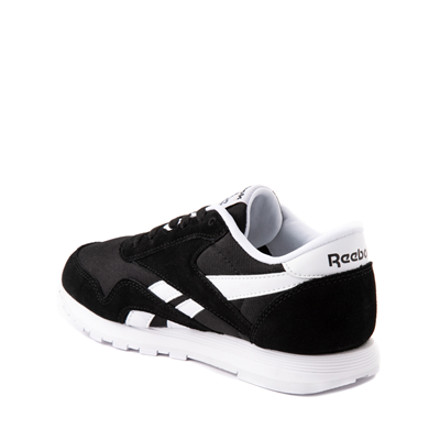 Alternate view of Reebok Classic Nylon Athletic Shoe - Big Kid - Black