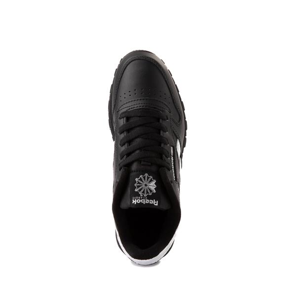 alternate view Reebok Classic Athletic Shoe - Big Kid - Black / IridescentALT2