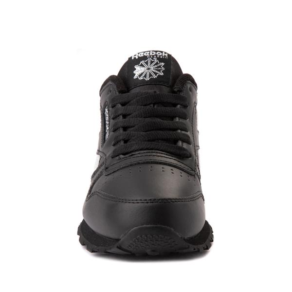 alternate view Reebok Classic Athletic Shoe - Big Kid - Black / IridescentALT4
