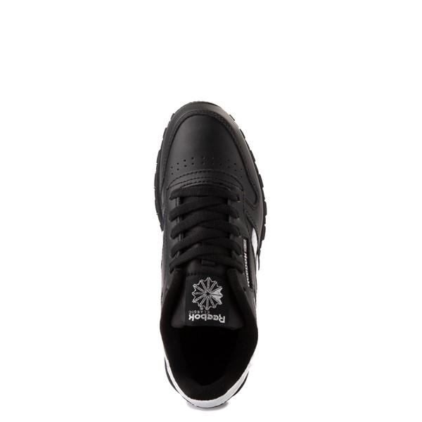 alternate view Reebok Classic Athletic Shoe - Big Kid - Black / IridescentALT4B