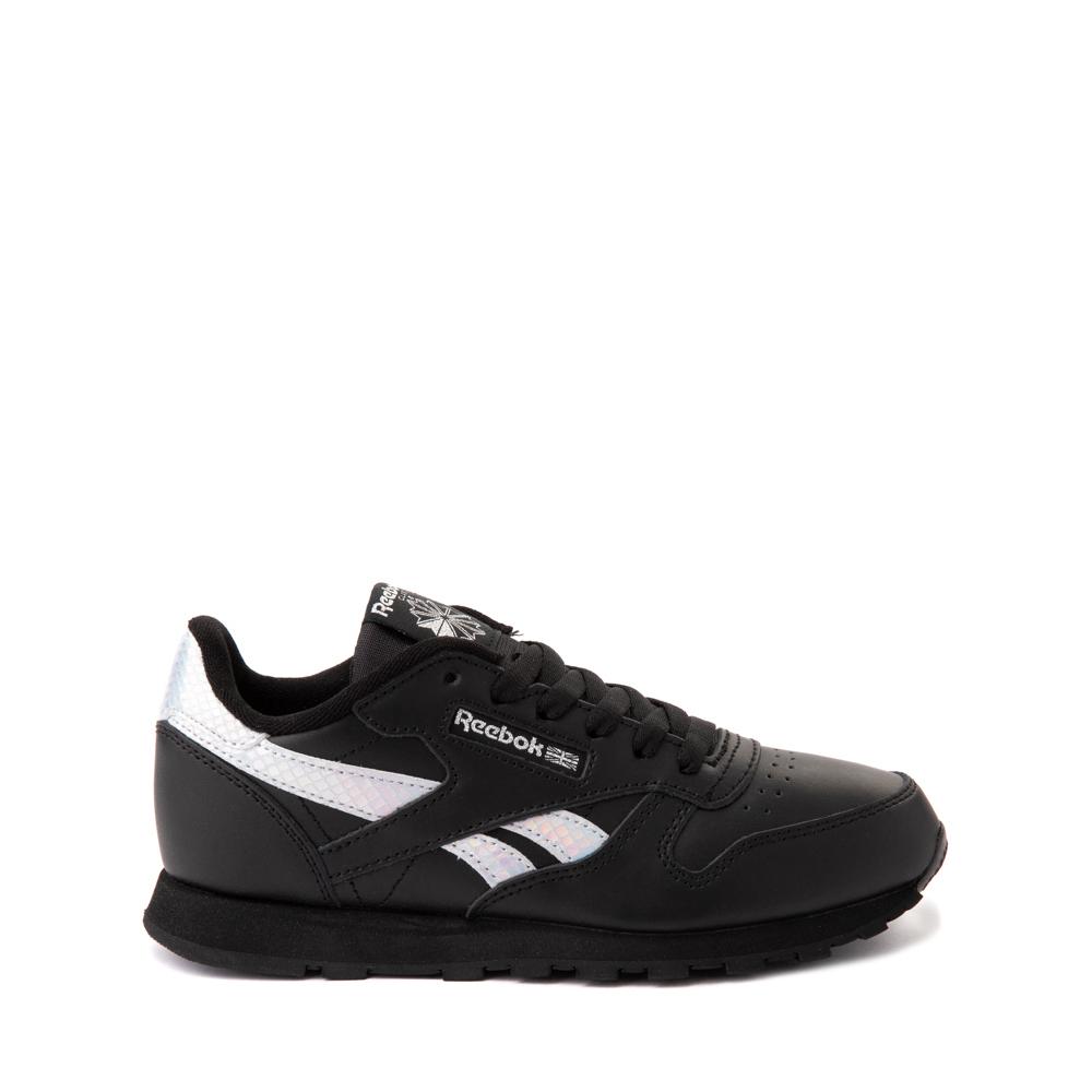 Reebok Classic Athletic Shoe - Big Kid - Black / Iridescent