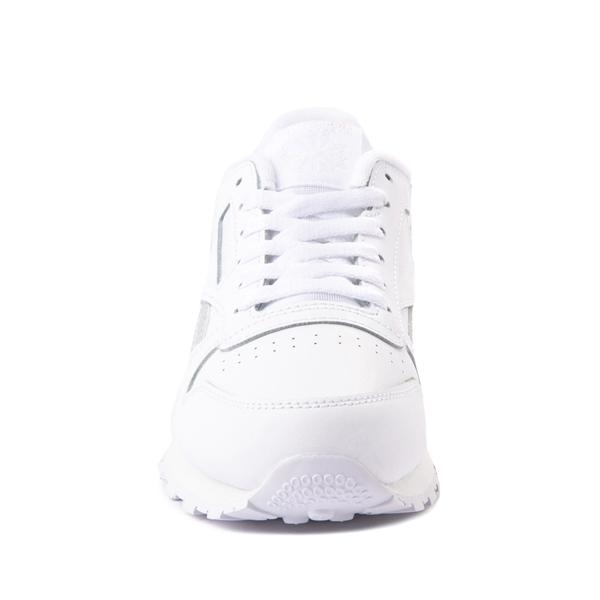 alternate view Reebok Classic Athletic Shoe - Big Kid - White / IridescentALT4