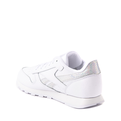 Alternate view of Reebok Classic Athletic Shoe - Big Kid - White / Iridescent