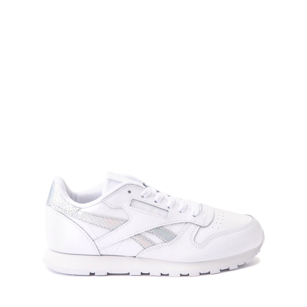 Reebok Classic Athletic Shoe - Big Kid - White / Iridescent