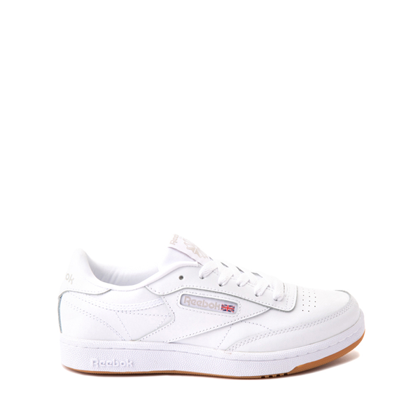 Reebok Club C Athletic Shoe - Big Kid - White / Gum