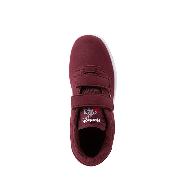 alternate view Reebok Club C Coast Athletic Shoe - Little Kid - MaroonALT2