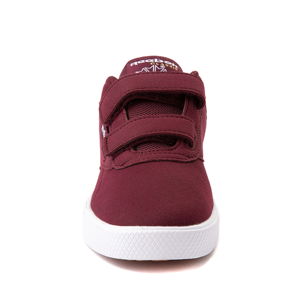 alternate view Reebok Club C Coast Athletic Shoe - Little Kid - MaroonALT4