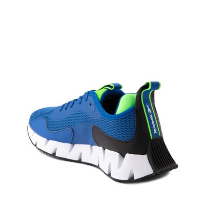 Alternate view of Reebok Zig Dynamica Athletic Shoe - Big Kid - Vector Blue / Solar Green