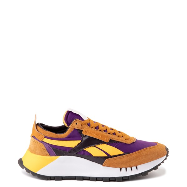 Main view of Reebok Classic Legacy Athletic Shoe - Rich Ochre / Regal Purple / Midnight Shadow