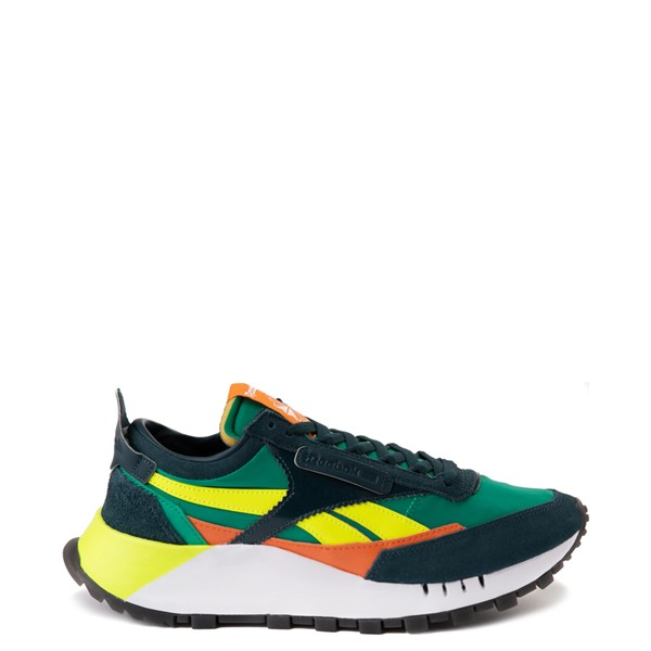 Main view of Reebok Classic Legacy Athletic Shoe - Mineral Blue / Court Green / Solar Yellow