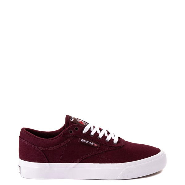 Main view of Reebok Club C Coast Athletic Shoe - Maroon