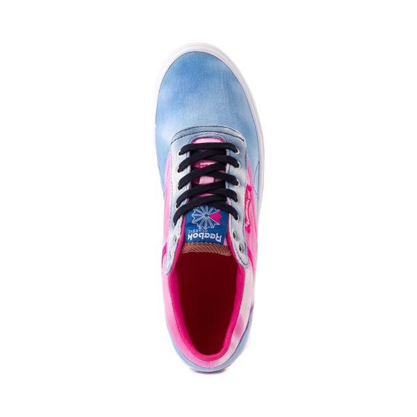 alternate view Reebok Club C Coast Athletic Shoe - Vector Blue / Proud PinkALT2
