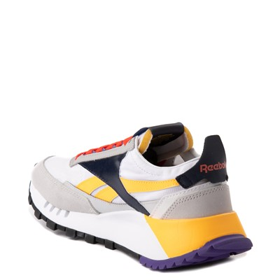 Alternate view of Womens Reebok Classic Legacy Athletic Shoe - Snowy Gray / Solar Gold / Ultra Violet