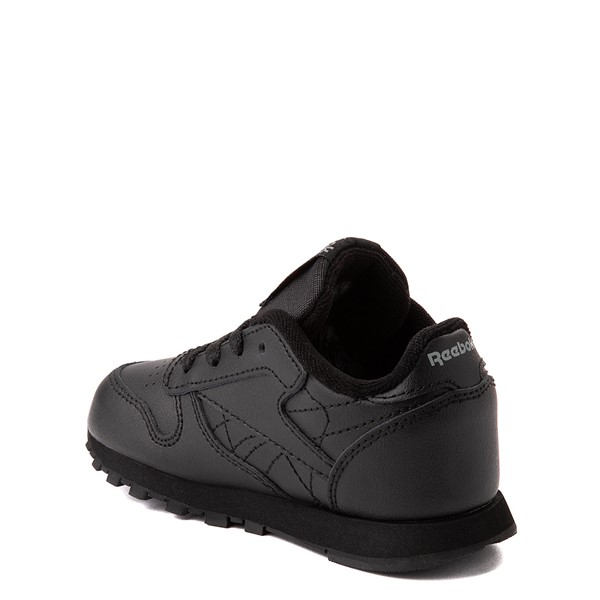 alternate view Reebok Classic Athletic Shoe - Baby / Toddler - Black MonochromeALT1