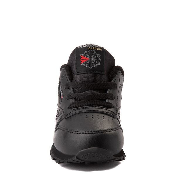 alternate view Reebok Classic Athletic Shoe - Baby / Toddler - Black MonochromeALT4