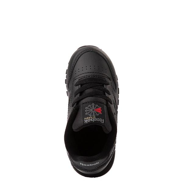 alternate view Reebok Classic Athletic Shoe - Baby / Toddler - Black MonochromeALT4B