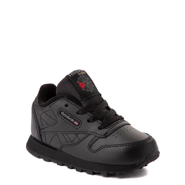 alternate view Reebok Classic Athletic Shoe - Baby / Toddler - Black MonochromeALT5