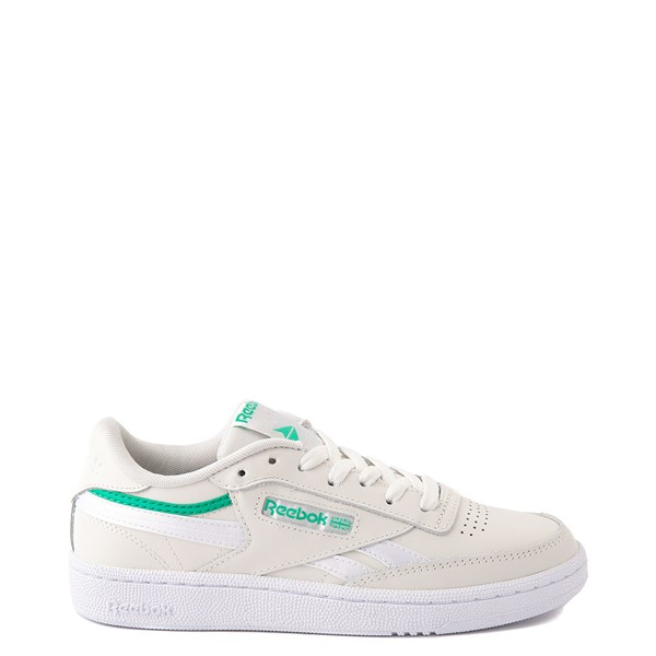 Main view of Womens Reebok Club C 85 Athletic Shoe - Chalk / Court Green
