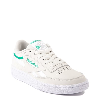 Alternate view of Womens Reebok Club C 85 Athletic Shoe - Chalk / Court Green