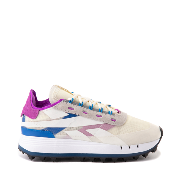Main view of Womens Reebok Classic Legacy 83 Athletic Shoe - Chalk / Dynamic Blue