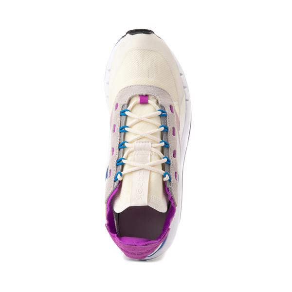 alternate view Womens Reebok Classic Legacy 83 Athletic Shoe - Chalk / Dynamic BlueALT2