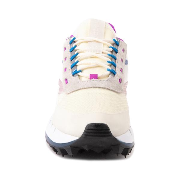 alternate view Womens Reebok Classic Legacy 83 Athletic Shoe - Chalk / Dynamic BlueALT4