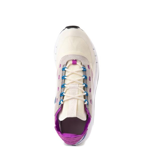 alternate view Womens Reebok Classic Legacy 83 Athletic Shoe - Chalk / Dynamic BlueALT4B