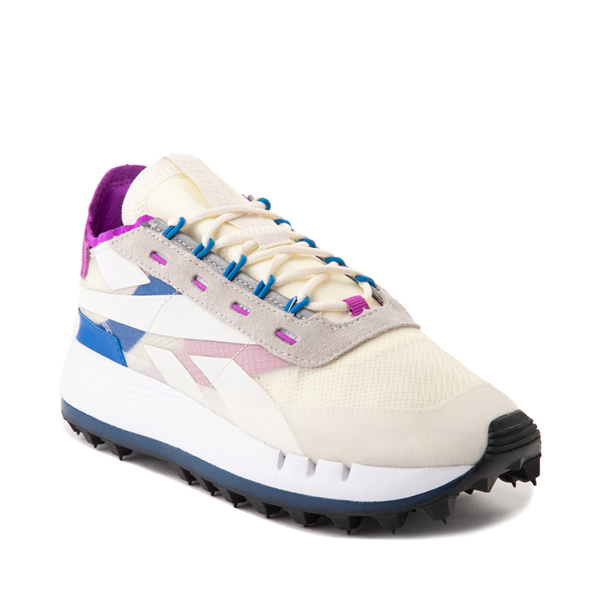 alternate view Womens Reebok Classic Legacy 83 Athletic Shoe - Chalk / Dynamic BlueALT5
