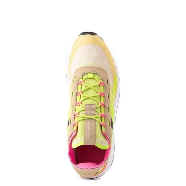 alternate view Womens Reebok Classic Legacy 83 Athletic Shoe - Alabaster / Utility Yellow / Solar OrangeALT2