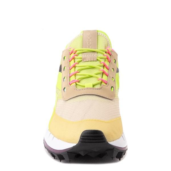 alternate view Womens Reebok Classic Legacy 83 Athletic Shoe - Alabaster / Utility Yellow / Solar OrangeALT4